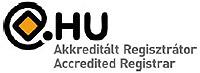 Akkreditált .hu regisztrátor